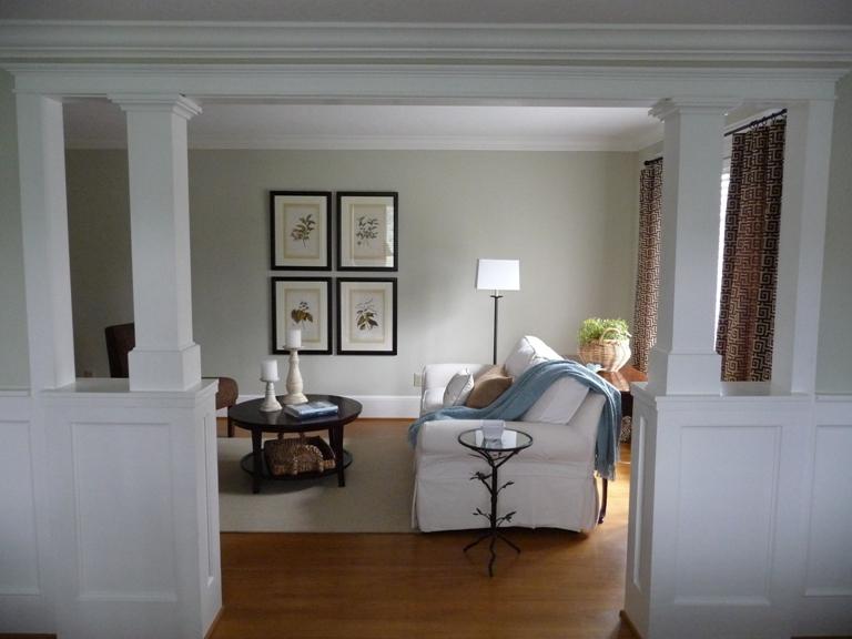 Living Room Update Long Wall