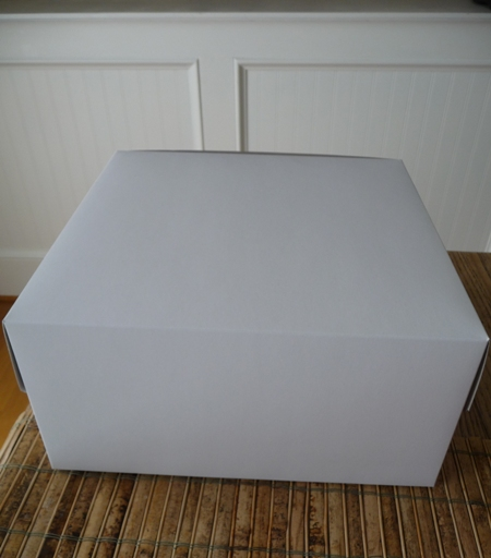 Spray Paint a box from Drab to Fab…