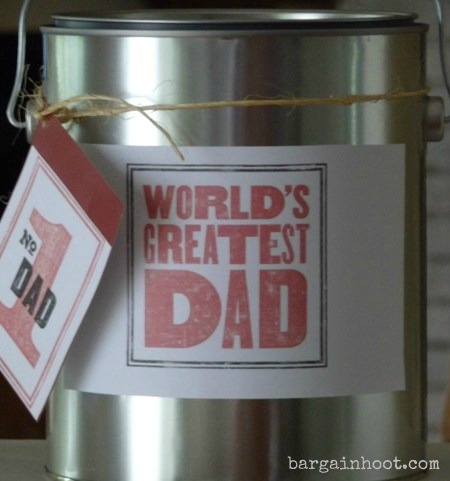 creative Father's Day gift idea