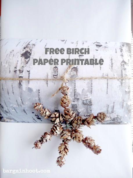 birch paper printable