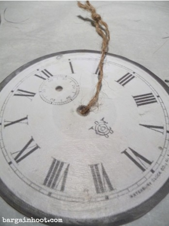 clock face ornament