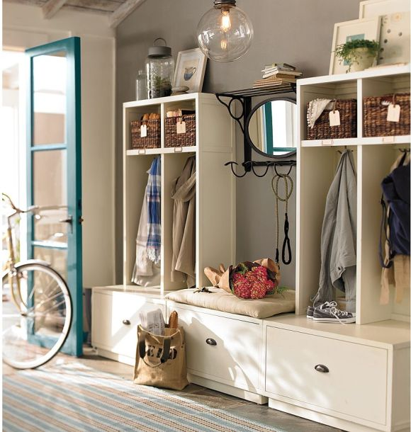 Pottery barn paint examples for Pottery barn foyer ideas
