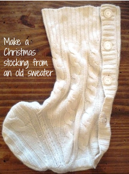 make your own Christmas stocking