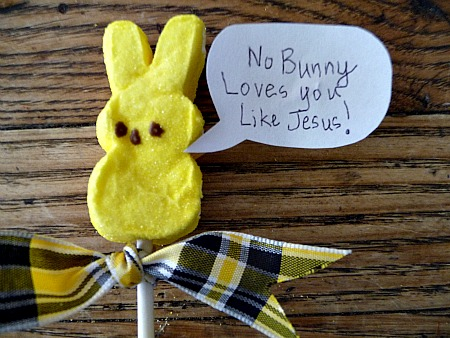 No Bunny Loves you like Jesus