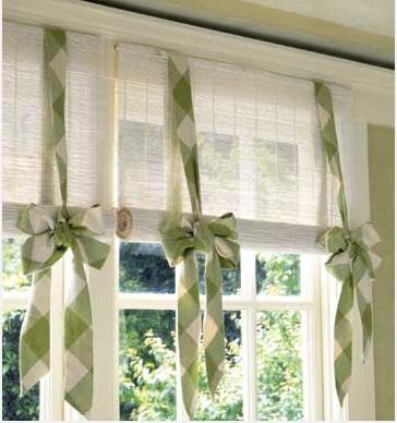 Cute Diy Window Valance Idea