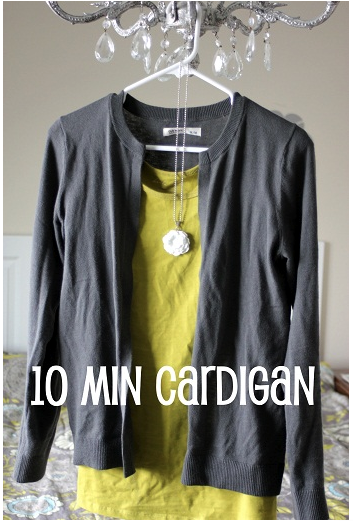 How to make a cardigan