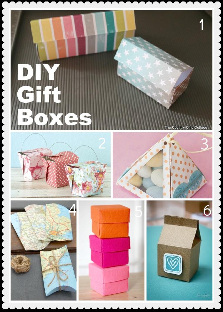Diy favor boxes for Idea diy door gift