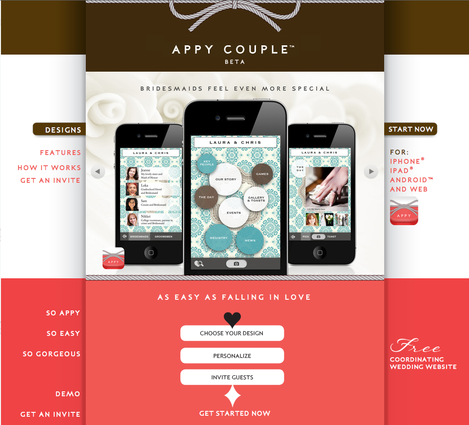 Create Your Own Wedding App On Appy Couple
