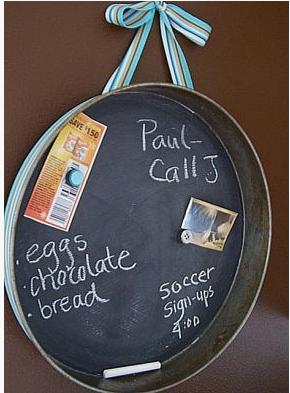 baking pan Chalkboard