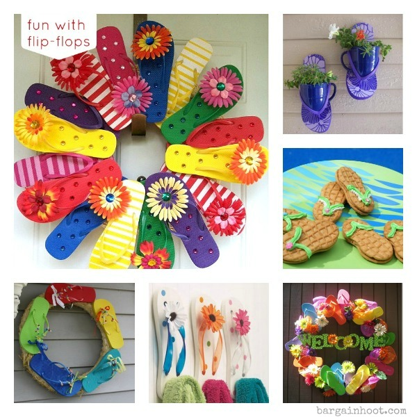 Flip Flop wreath and cookie ideas
