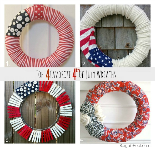 Favorite 4th of July wreaths