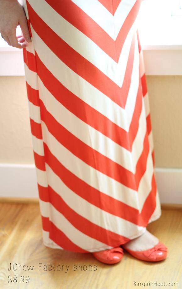 maxi chevron skirt fashion friday