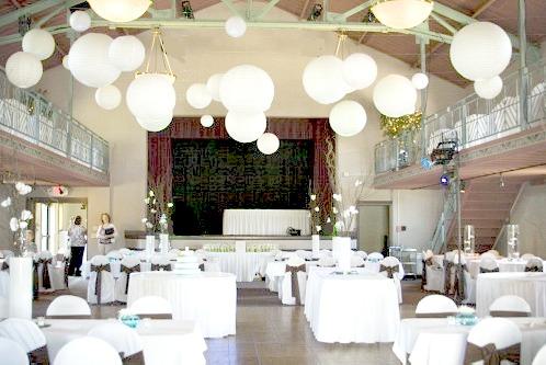 Nazareth Hall wedding reception