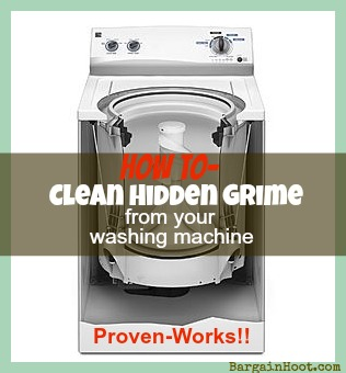 How to clean hidden grime from your washing machine