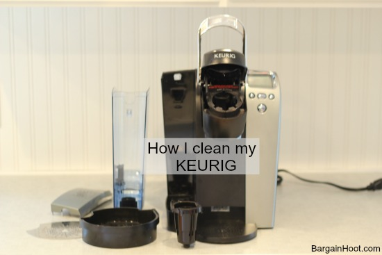 Keurig, Cleanses and Cleaning with vinegar on Pinterest