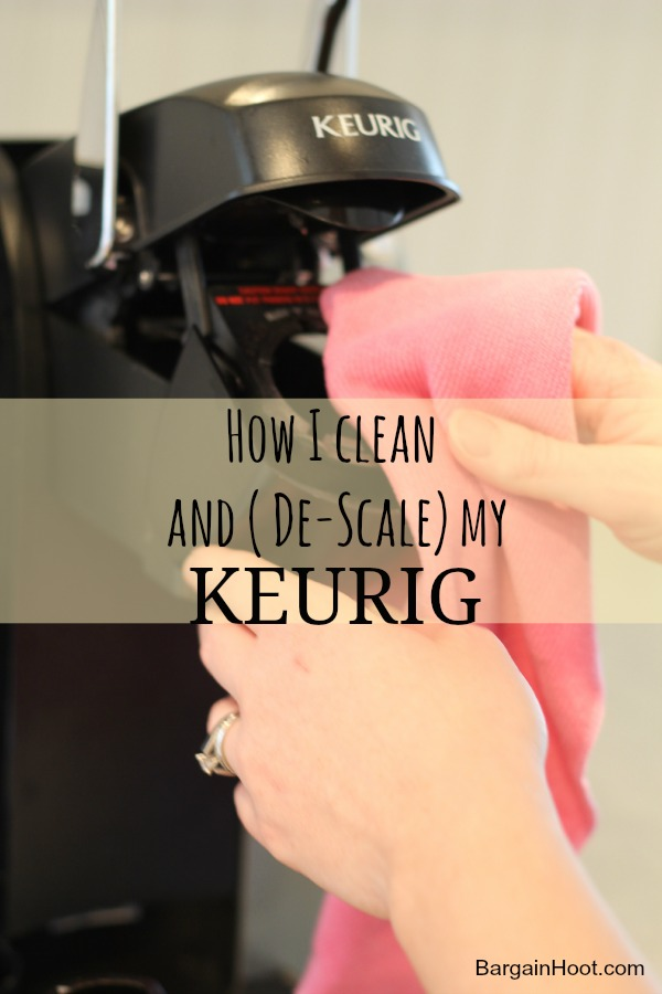 Keurig One Cup Coffee Maker Cleaning : How to clean and (De-scale) a Keurig one cup coffee maker