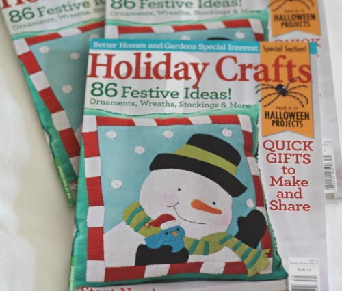 Better Homes and Gardens Holiday Craft Magazine