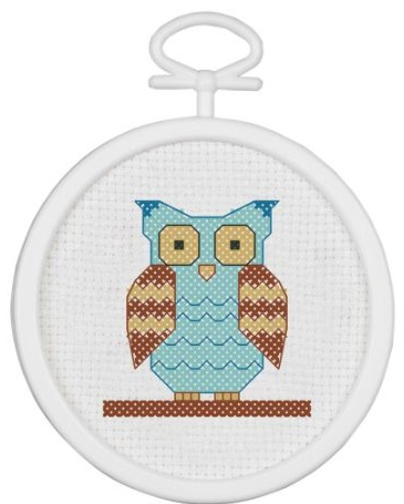 Counted Cross stitch owl
