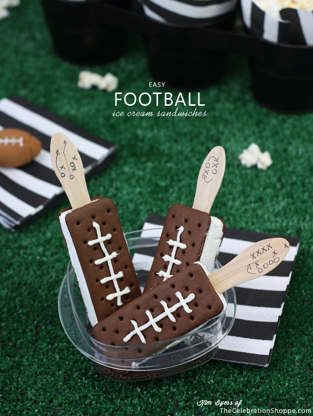 Superbowl dessert : Kim Byers of The Celebration Shoppe