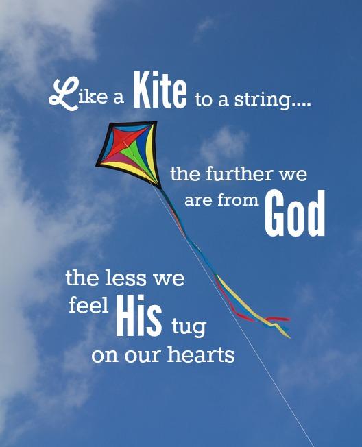 Christian kite quote